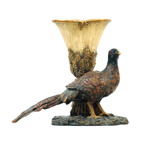 Sterling Industries 93-4540 Autumn Pheasant Planter - Peazz.com