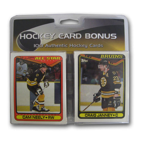 100 Card Bonus Pack NHL - Boston Bruins - Peazz.com