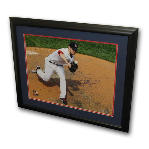 "Autographed Daniel Bard 16X20 Framed Photo ""Boston Red Sox"" (MLB Authenticated) - Peazz.com"