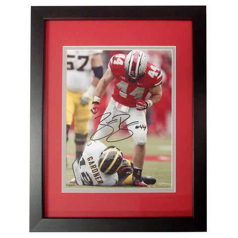 Autographed Zach Boren 8-by-10 inch framed Photo. - Peazz.com
