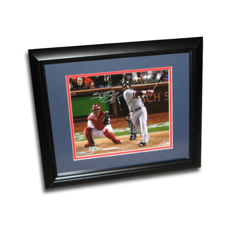 Autographed Jonny Gomes Swing 8x10 inch framed 2013 World Series Photo. - Peazz.com