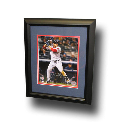 Autographed Will Middlebrooks 8-by-10 Inch Framed Batting Photo - Peazz.com