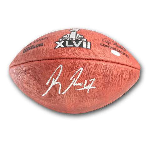 Baltimore Ravens Ray Rice Superbowl 47 Football - Peazz.com