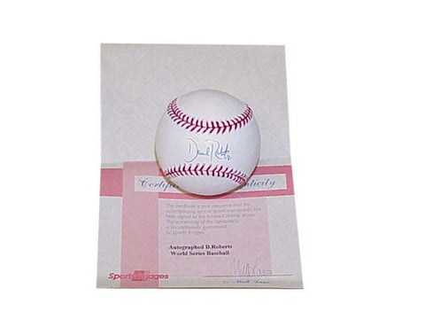"Autographed Dave Roberts 2004 World Series Baseballll Inscribed ""The Steal of The Century"" (MLB Authenticated) - Peazz.com"