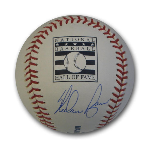 Autographed Nolan Ryan Hall of Fame Logo Baseball. - Peazz.com