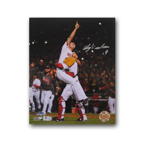 Autographed Koji Uehara 8x10 unframed 2013 World Series photo. - Peazz.com