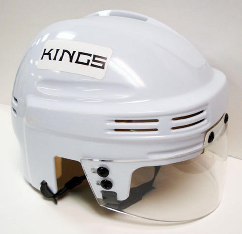 Official NHL Licensed Mini Player Helmets - LA Kings (White) - Peazz.com