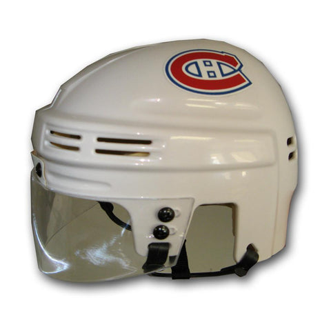 Official NHL Licensed Mini Player Helmets - Montreal Canadiens (White) - Peazz.com