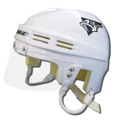 Official NHL Licensed Mini Player Helmets - Nashville Predators (White) - Peazz.com