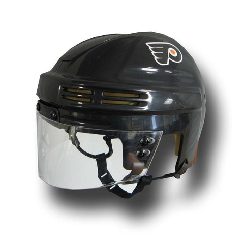 Official NHL Licensed Mini Player Helmets - Philadelphia Flyers - Peazz.com