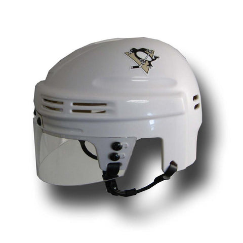 Official NHL Licensed Mini Player Helmets - Pittsburgh Penguins (White) - Peazz.com