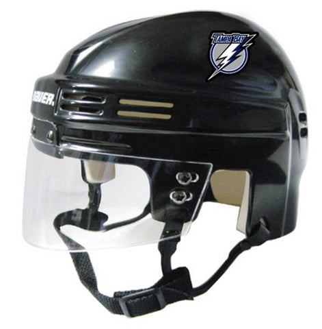 Official NHL Licensed Mini Player Helmets - Tampa Bay Lightning - Peazz.com