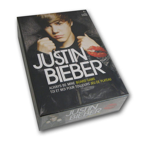 Justin Bieber Always Be Mine Board Game - Peazz.com