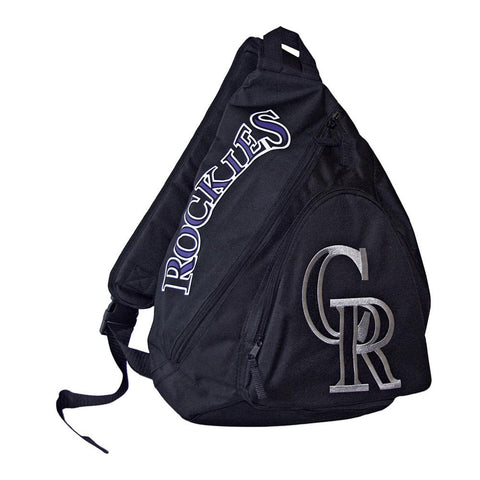 Slingback Backpack MLB Black - Colorado Rockies - Peazz.com