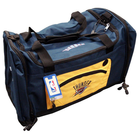 Road Block Duffle Bag NBA Blue - Oklahoma City Thunder - Peazz.com