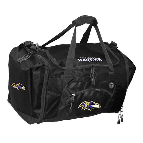 Road Block Duffle Bag NFL Black - Baltimore Ravens - Peazz.com