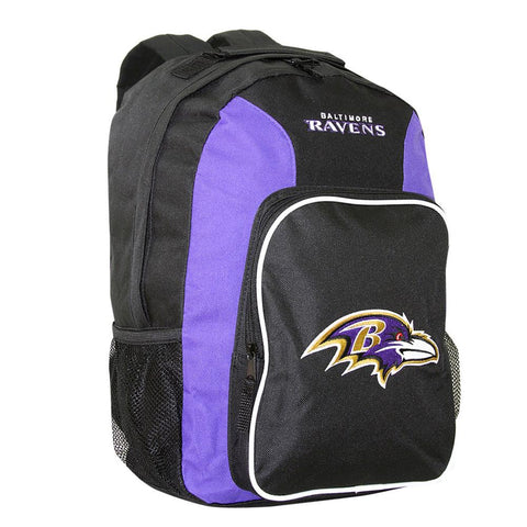 Southpaw Backpack NFL Purple - Baltimore Ravens - Peazz.com