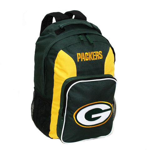 Southpaw Backpack NFL Black - Green Bay Packers - Peazz.com