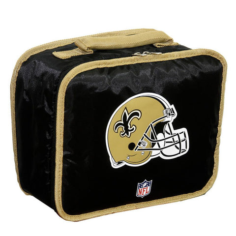 Lunch Break Cooler NFL Black - New Orleans Saints - Peazz.com