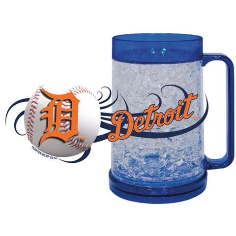 Tigers 16Oz Crystal Freezer Mug - Peazz.com