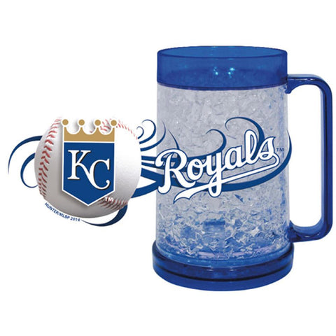 Royals 16Oz Crystal Freezer Mug - Peazz.com