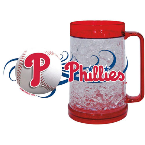 Philadelphia Phillies 16Oz Crystal Freezer Mug - Peazz.com