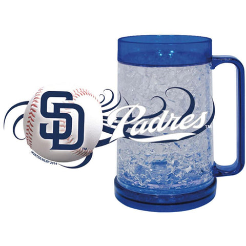 Padres 16Oz Crystal Freezer Mug - Peazz.com