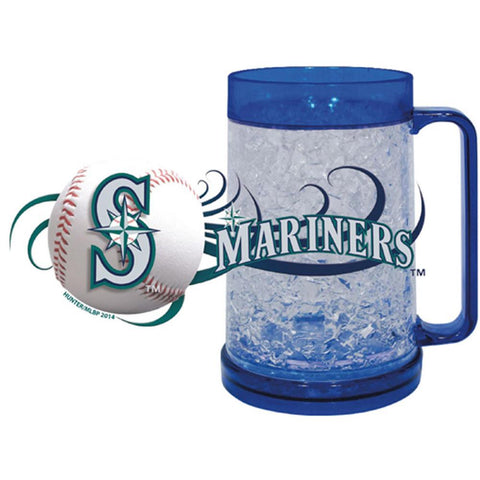 Seattle Mariners 16Oz Crystal Freezer Mug - Peazz.com