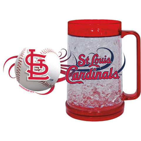 St. Louis Cardinals 16Oz Crystal Freezer Mug - Peazz.com