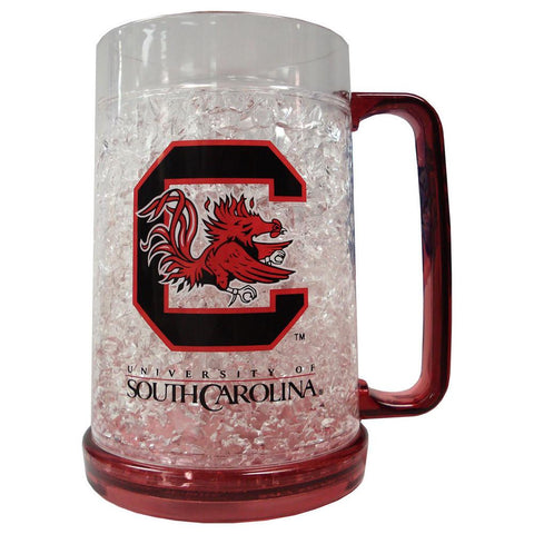16Oz Crystal Freezer Mug - University of South Carolina Gamecocks - Peazz.com