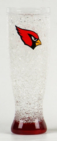 16Oz Crystal Freezer Pilsner NFL - Arizona Cardinals - Peazz.com