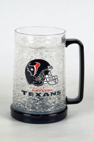 16Oz Crystal Freezer Mug NFL - Houston Texans - Peazz.com