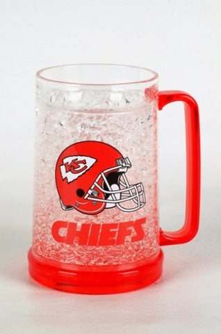 16Oz Crystal Freezer Mug NFL - Kansas City Chiefs - Peazz.com