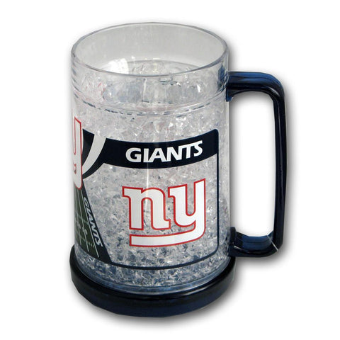 16Oz Crystal Freezer Mug NFL - New York Giants - Peazz.com
