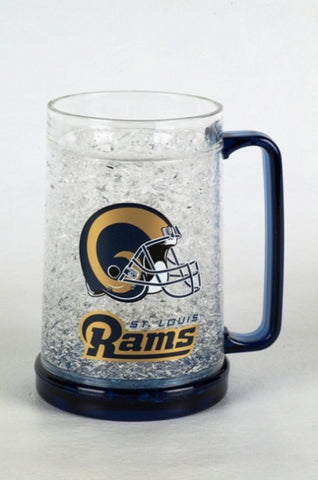 16Oz Crystal Freezer Mug NFL - Saint Louis Rams - Peazz.com