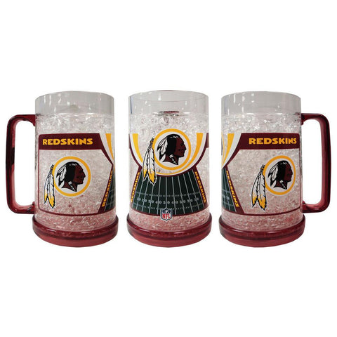 16Oz Crystal Freezer Mug NFL - Washington Redskins - Peazz.com