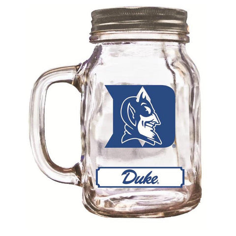 16Oz Mason Jar Duke Blue Devils - Peazz.com