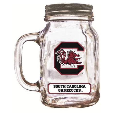 16Oz Mason Jar South Carolina Gamecocks - Peazz.com