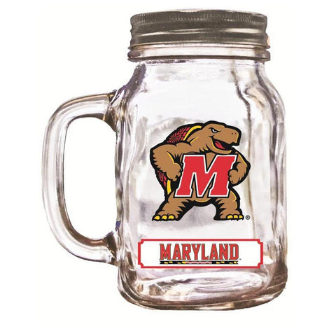 16Oz Mason Jar Maryland Terrapins - Peazz.com