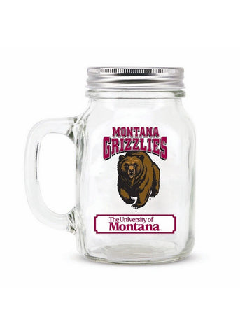 16Oz Mason Jar Univeristy of Montana - Peazz.com