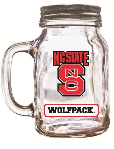 16Oz Mason Jar North Carolina State - Peazz.com