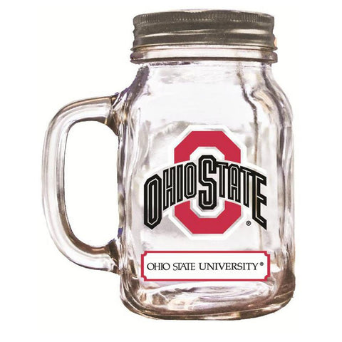 16Oz Mason Jar Ohio State - Peazz.com