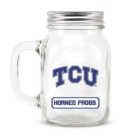 16Oz Mason Jar Texas Christian University - Peazz.com