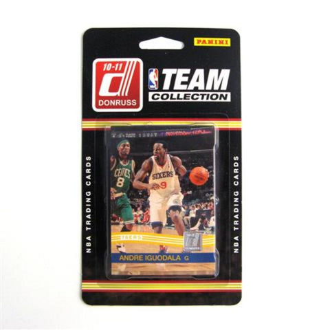 2010/11 Donruss NBA Team Set - Philadelphia 76Ers - Peazz.com