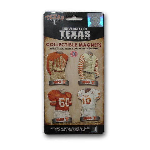 4 Pack Uniform Magnet Set - Ncaa - Texas State University - Peazz.com