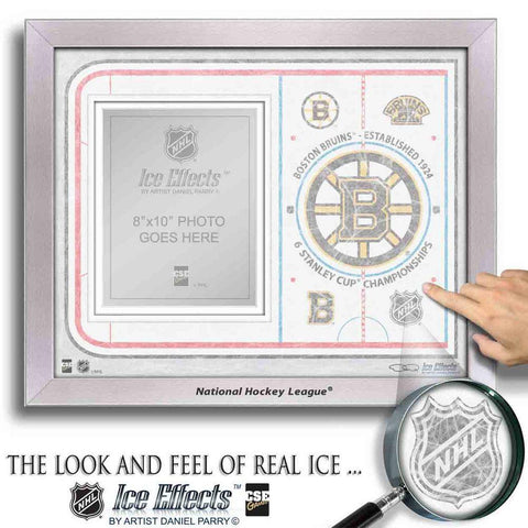 NHL Ice Effects Frames - Boston Bruins - Peazz.com