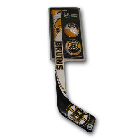Frank Softee Hockey Stick Set - Boston Bruins - Peazz.com