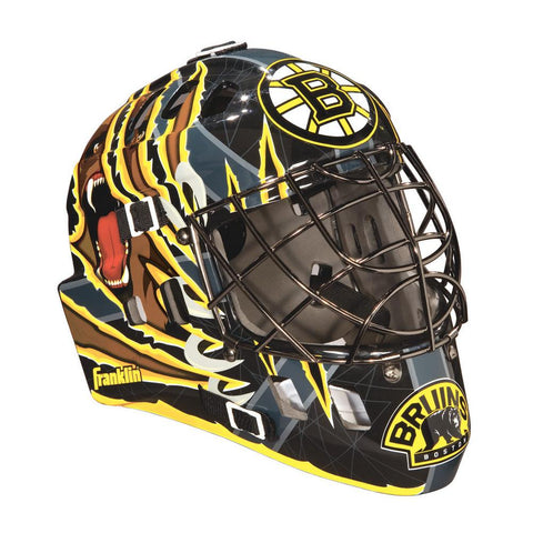 Franklin NHL Mini Goalies Mask- Boston Bruins - Peazz.com