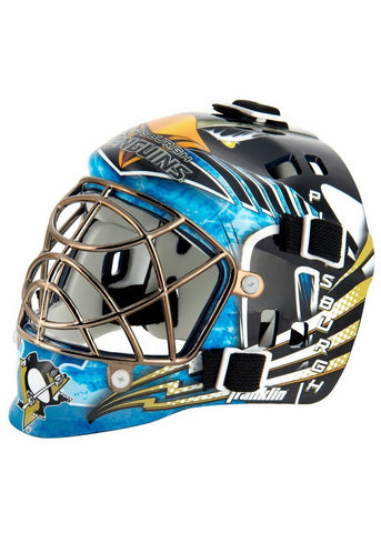 Franklin NHL Mini Goalies Mask- Pittsburgh Penguins - Peazz.com