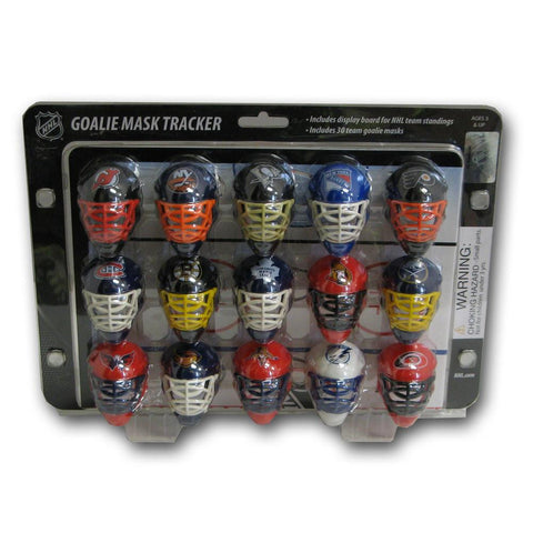 NHL Mini Goalie Mask Tracker/Standings Board - Peazz.com